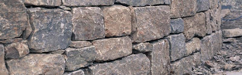 Harmonisches Fugenbild dank sorgfältiger Steinbearbeitung